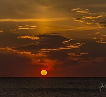 outer banks sunrise by johnlackphoto