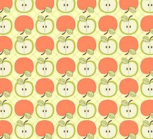 Apple Days Pattern by SpiceTree