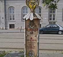 Memorial, Budapest, Hungary by Margaret  Hyde