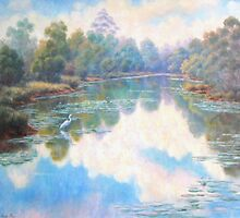 """""""Lily Lagoon"""" by Allison  Shaw"""