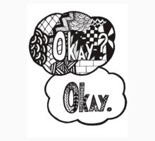 Okay? Okay TFIOS Zentangle by LittleMisfitMe