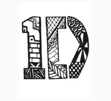 One Direction Zentangle by LittleMisfitMe