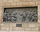 Plaque, (Hungarian Academy of Sciences)  Budapest, Hungary by Margaret  Hyde