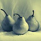 Three Pears by Evita