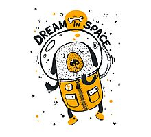 Dream in space Photographic Print