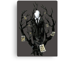 Slenderman III Canvas Print
