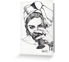 Madonna 7 Greeting Card