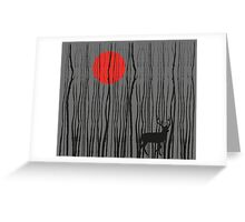Treescape 2  Greeting Card