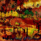 Abstract Landcape by Sabine Spiesser