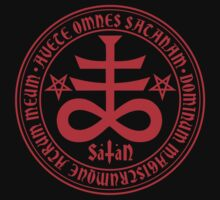 Hail Satan - Satanic Cross by TropicalToad