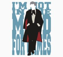 Quotable Who - Third Doctor Kids Clothes
