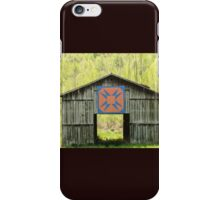 Kentucky Barn Quilt - Happy Hunting Ground iPhone Case/Skin