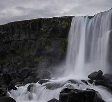 Boring waterfall by sorter