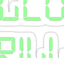 Welcome Thrillho Sticker