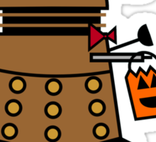 Exterminate or Treat - Full Color Sticker