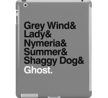 The Direwolves iPad Case/Skin