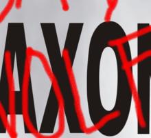 Bad Saxon Poster Sticker