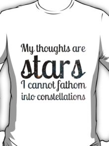 The Fault in Our Stars - My Thoughts T-Shirt