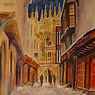 winter Canterbury by Beatrice Cloake