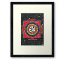 Shri Yantra Mandala  Framed Print