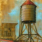NYC Water Tower 1 by Eva C. Crawford