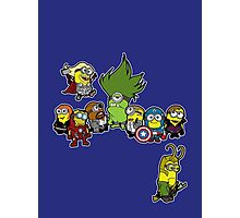 Minions Assemble Photographic Print
