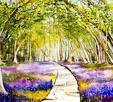 Bluebells by closetpainter