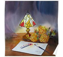 The Tiffany lamp Poster