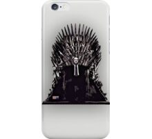 Underwood on the Iron Throne iPhone Case/Skin