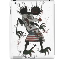 Mickey Mouse - Fear and Loathing - Ralph Steadman iPad Case/Skin