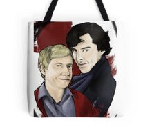 A detective and his blogger Tote Bag