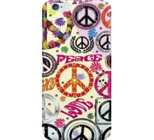 Flower Power Peace And Love Hippie iPad / iPhone 4 / iPhone 5  Case / Samsung Galaxy Cases / Pillow / Tote Bag / Duvet iPhone Case/Skin