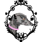 Greyhound Cameo by wumbobot