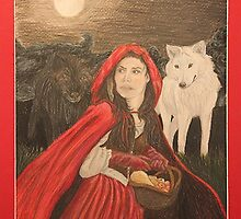Red Riding Hood by colorfulmoniker