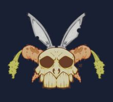 Old Rabbit Skull Kids Clothes