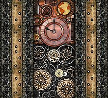 Infernal Steampunk Timepiece #2B iPhone Case by Steve Crompton