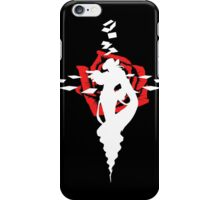 Twisted Fate Rose Black iPhone Case/Skin