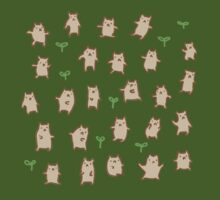 Tiny Bears Pattern T-Shirt