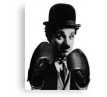 Boxing with Charlie... Canvas Print