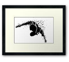 Zed Shadow Framed Print