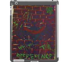 Batman: What's The Difference iPad Case/Skin