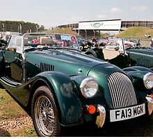 Morgan Plus Four Coupe 2013  1999cc by Keith Larby