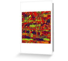 0480 Abstract Thought Greeting Card
