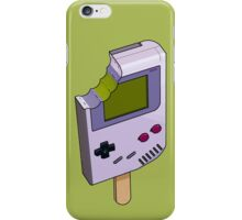 Game Boy Icicle iPhone Case/Skin