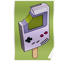Game Boy Icicle Poster