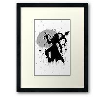 Vayne Ink Framed Print