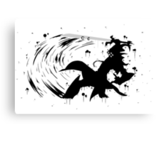 Master Yi Ink Canvas Print