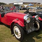 Morgan Sports 1939 1048cc by Keith Larby