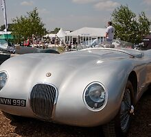 Jaguar XK 140 Coupe 1087 3442cc by Keith Larby