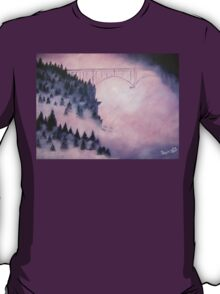 Deception Pass, Washington ~ Oil Painting T-Shirt